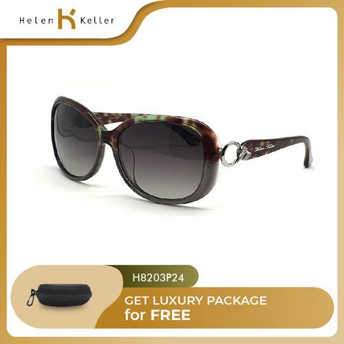 Foto Produk HELEN KELLER-Kacamata Hitam Wanita UV Protection-H8203-P24-Green dari Helen Keller Official