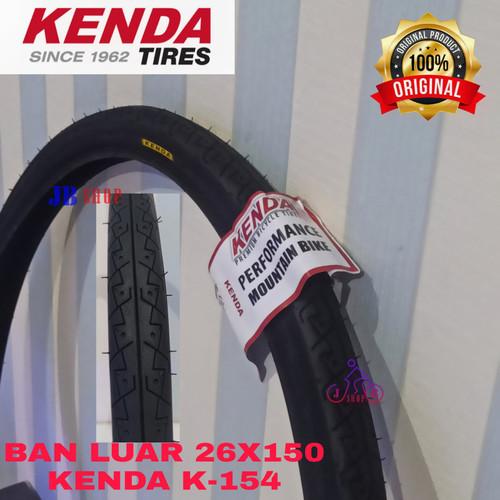 Foto Produk BAN LUAR SEPEDA 26 X 150 1.50 KENDA 40 - 559 26X150 26X1.50 ORIGINAL - TIPE K-154 dari JB Shop 1