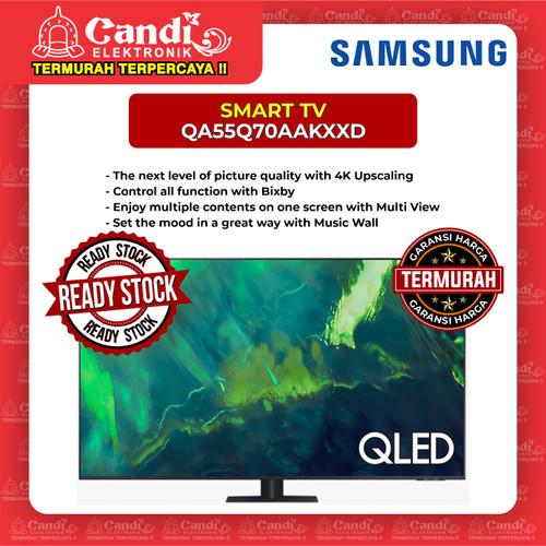 Foto Produk SMART TV QLED TV SAMSUNG 55 INCH QA55Q70AAKXXD dari Candi Elektronik Solo