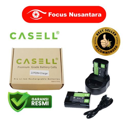 Foto Produk CASELL LP-E6N Battery Pack (2 Battery + 1 USB Dual Charger) dari Focus Nusantara