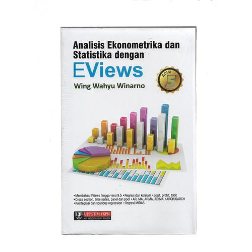 Foto Produk ANALISIS EKONOMETRIKA & STAT D EVIEWS ED 5 -UR dari Toko Buku Uranus