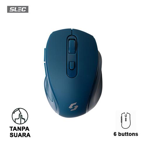 Foto Produk SLEC Mouse Wireless NC20 - Dark Blue dari SLEC Official Store