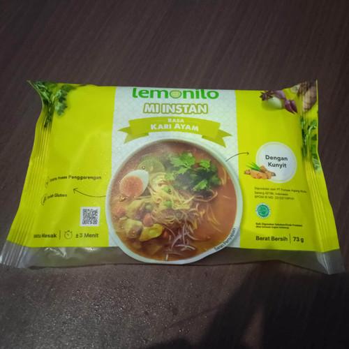 Foto Produk Lemonilo Mie Instan Mi Alami Rasa Indomie Goreng Kari Ayam Bawang - Kari Ayam dari Ahza-Shop