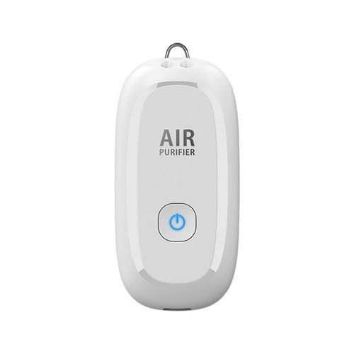 Foto Produk Kalung Air Purifier Anti Virus Covid-19 Model Terbaik 150 juta ion/cm - Putih dari GNE Product