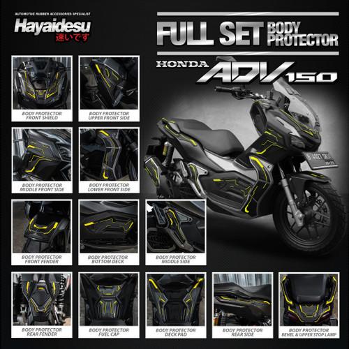 Foto Produk Hayaidesu Honda ADV Full Set Body Protector Cover dari Hayaidesu Indonesia