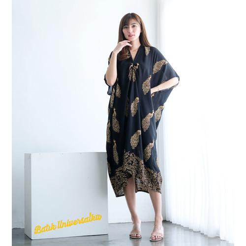 Foto Produk KAFTAN batik dress. Terusan Caftan batik cap paris - PEACOCK Merak - Motif B dari Batik Universal