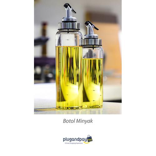Foto Produk Botol Minyak Olive Oil 500ml Bumbu Saus Kecap - plugandpay dari plugandpay