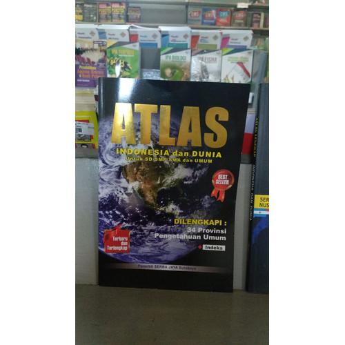 Foto Produk ATLAS IND & DUNIA DILENGKAPI 34 PROV-SRB BSR -ur dari Toko Buku Uranus