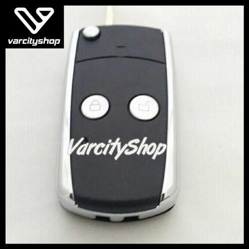 Foto Produk Casing Kunci Lipat Flip Key 2 tombol mobil TOYOTA Innova, Vios, dll dari varcityshop