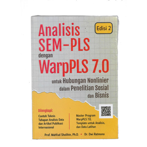 Foto Produk ANALISIS SEM-PLS DENGAN WARPPLS 7.0-AO KR -UR dari Toko Buku Uranus
