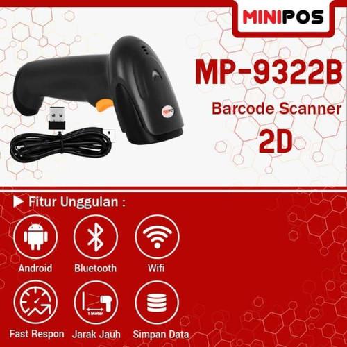 Foto Produk MiniPOS MP-9322B - Barcode Scanner 2D Wireless / Bluetooth dari PojokITcom Pusat IT Comp