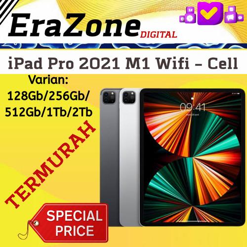 Jual (NEW) iPad Pro 2021 Chip M1 128Gb / 256Gb /512Gb Cell ...