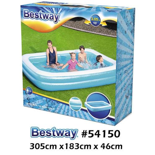 Foto Produk Bestway 54009 Kolam Renang Karet Anak Keluarga Besar 305 cm Size Jumbo - #54150 (2 Ring) dari Gudang Olahraga