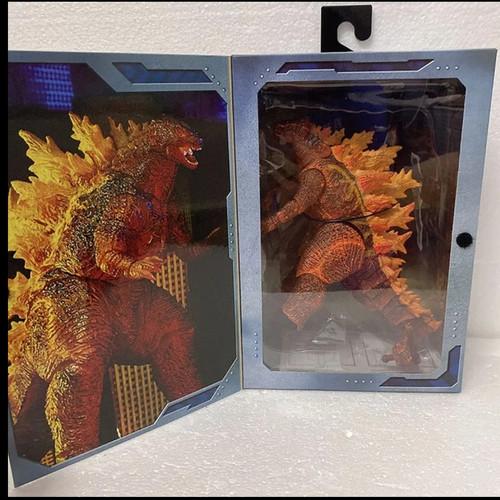 Foto Produk Figure Neca Godzilla 2019 Atomic Blast Deluxe Box Kids Toys - Orange dari Arno Stark Gading