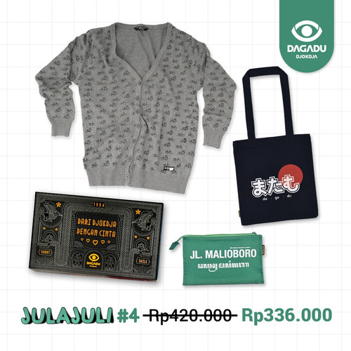 Foto Produk Bundling Paket 4 - S dari Dagadu Official Shop