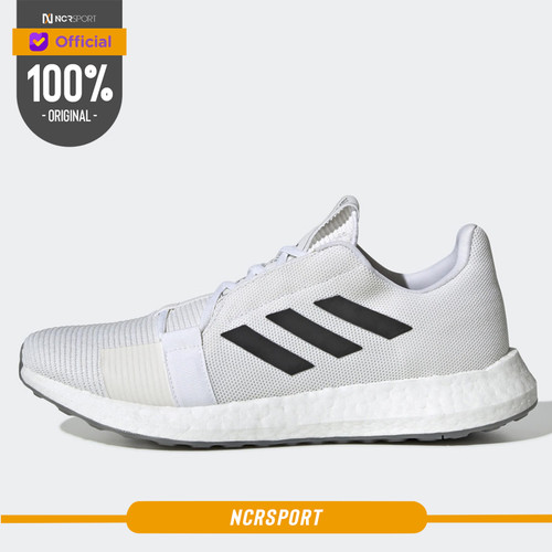 Foto Produk Sepatu Lari Adidas Senseboost Go Cloud White Original EG0959 - (40 2/3) dari Ncr Sport