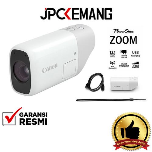 Foto Produk Canon PowerShot ZOOM Canon Power Shot Zoom Digital Camera GARANSIRESMI dari JPCKemang