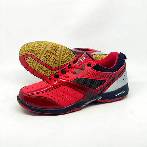Foto Produk SFU SEPATU BADMINTON ARDILES APPERGIO - MERAH HITAM, 38 dari Shoes For Us