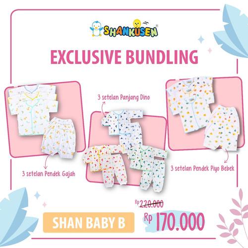 Foto Produk Shankusen EXCLUSIVE BUNDLING - New Normal B (9 stel baju bayi newborn) dari Shankusen Baby Official