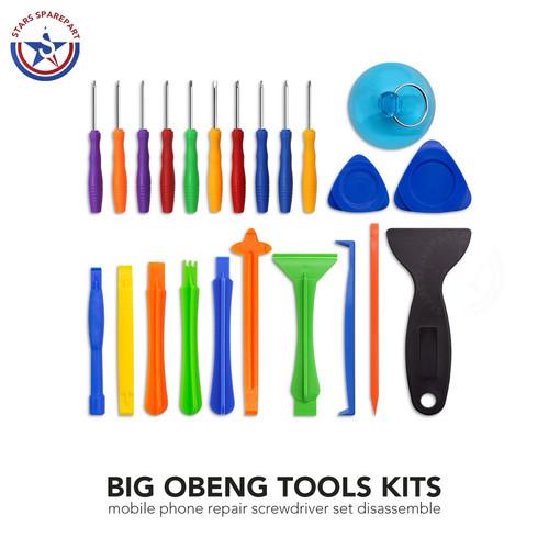 Foto Produk Obeng Hp Set 16 in 1 Reparasi Servis Smartphone Handphone SetTools Kit - 26 in 1 dari SemacamShop