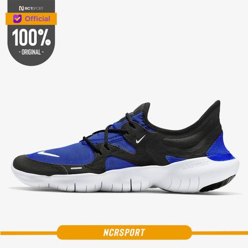 Foto Produk Sepatu Lari Nike Free RN 5.0 Racer Blue Original AQ1289-402 - 42 dari Ncr Sport