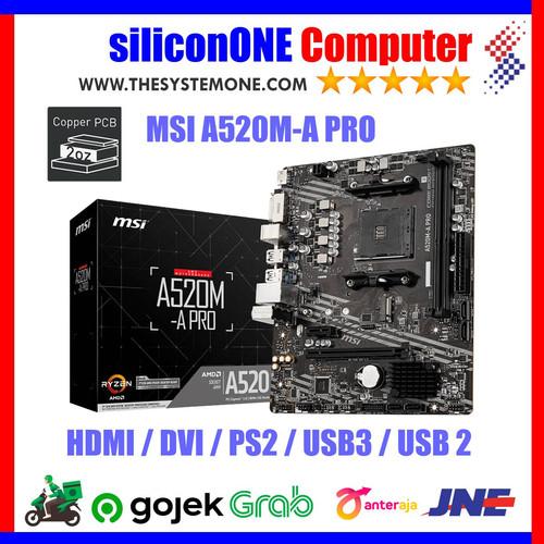 Foto Produk MSI A520M-A PRO A520M dari silicon ONE Computer