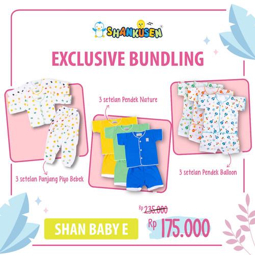 Foto Produk Shankusen EXCLUSIVE BUNDLING - New Normal E (9 stel baju bayi newborn) dari Shankusen Baby Official