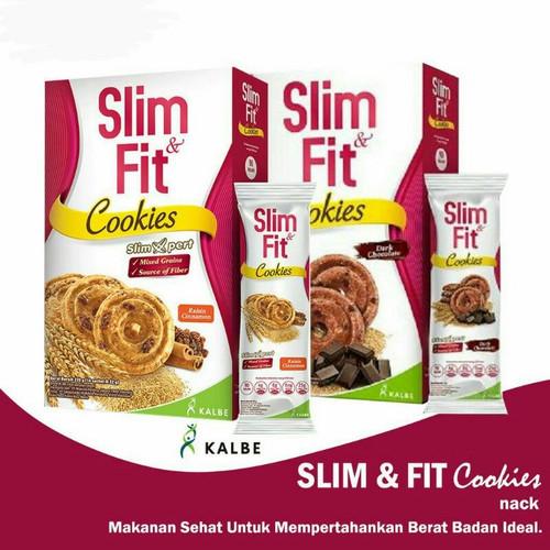 Foto Produk Slimfit slim & fit DIET cookies dark chocolate raisin cinamon 10x22 gr - Cinnamon Raisin dari Somura TBK