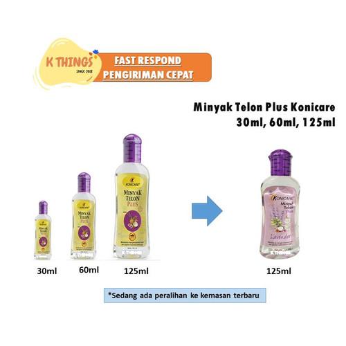 Foto Produk Minyak Telon Plus Konicare 125ml 125 ml Minyak Telon Anti Nyamuk Bayi - 60ml Exp Jul23 dari K Things