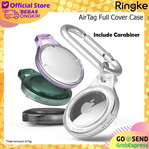 Foto Produk Case Apple AirTag Ringke Slim Casing Gantungan Kunci Hanger - Clear dari Originale Store