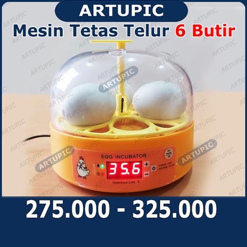 Foto Produk Mesin Tetas Telur Incubator 6 Butir Penetas Digital Egg Incubator Inku dari ArtupicPeralatanPeternak
