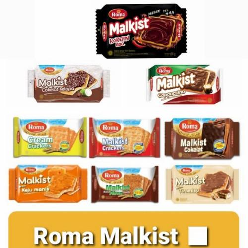 Foto Produk Roma Malkist Crackers 135gr - Manis dari Bintang Terang Snack
