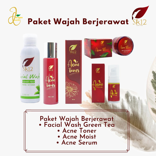 Foto Produk Paket Wajah Berjerawat dari DistributorSR12_Kalimantan