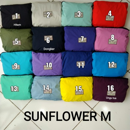 Foto Produk Jas Hujan Sunflower Sun flower Original S, M, L, XL, 2XL, 3XL, 4XL - M dari ZackyBylla Shop