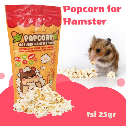 Foto Produk Popcorn Hamster snack makanan hamster dari eHamster