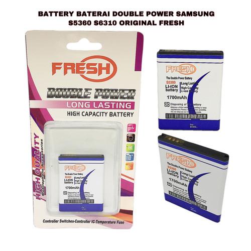 Foto Produk BATTERY BATERAI DOUBLE POWER SAMSUNG S5360 S6310 ORIGINAL FRESH dari LNA ACC