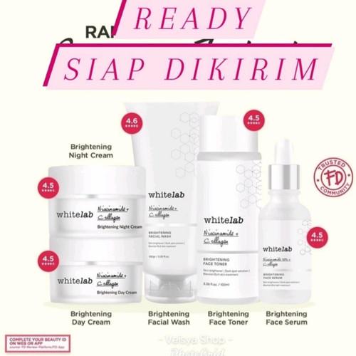 Foto Produk Whitelab Brightening Face Serum Krim Wajah Muka White Lab Set Paket - B-Acne Serum, Acne Soap dari Veisya Pinkyz Veline