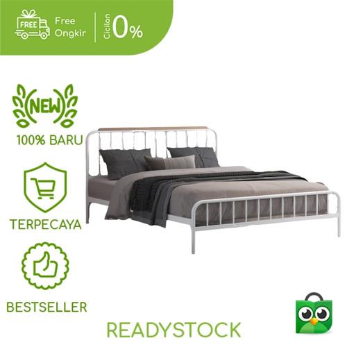 Foto Produk Divan Bed Ranjang Marina 160 White - Furnil Furniture dari furnil-furniture