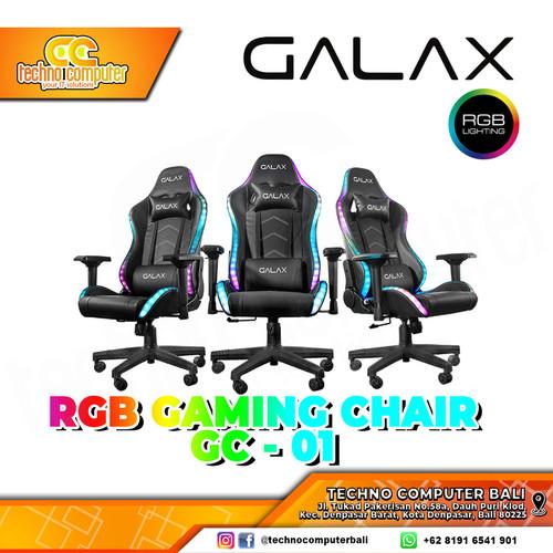 Foto Produk KURSI GAMING GALAX GC-01 RGB GAMING CHAIR 4D ARMREST - Hitam dari Techno Computer Bali