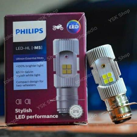 Foto Produk Lampu Motor LED Philips M5 (Bebek & Matic) 6W dari YSK Shop