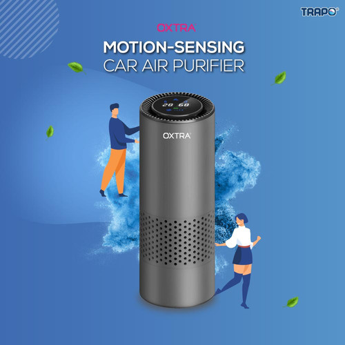 Foto Produk Trapo Oxtra Motion-Sensing Car Air Purifier - Air Purifier dari Trapo Indonesia
