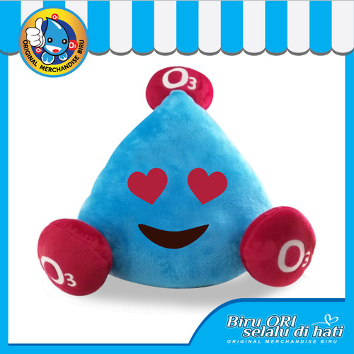 Foto Produk Boneka Lucu Mr. OTRI Love - Original Merchandise Store dari Air Minum Biru