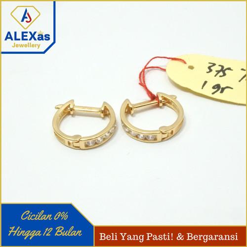 Foto Produk Anting Jepit Dewasa Emas Kuning Kadar 375 ALEXas Jewellery dari ALEX As Jewellery