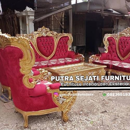Foto Produk Kursi tamu set royal belagio murah dari Putra Sejati Furniture