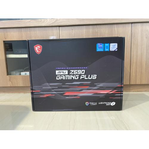 Foto Produk MSI MPG Z590 Gaming Plus Intel Z590 LGA 1200 ATX Motherboard dari Timbermaniac