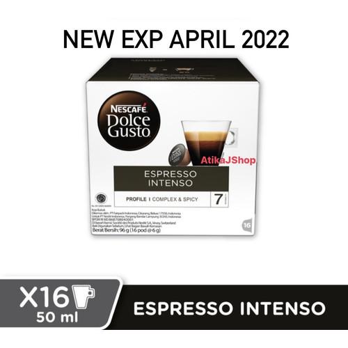 Foto Produk Nescafe Dolce Gusto Espresso Intenso - Capsule dari AtikaJShop