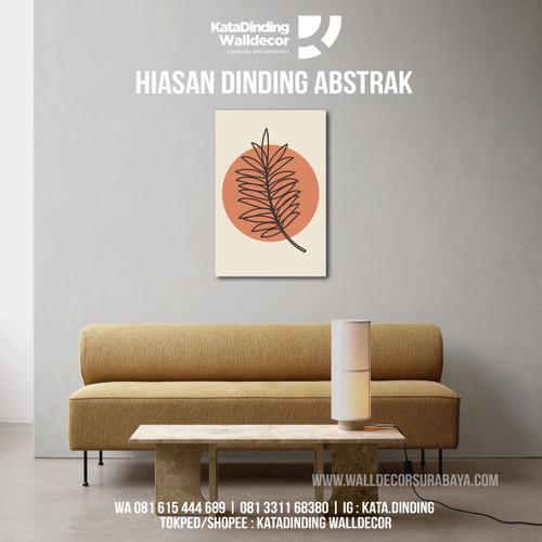 Foto Produk Hiasan Dinding Abstrak ABS8 dari Katadinding Walldecor