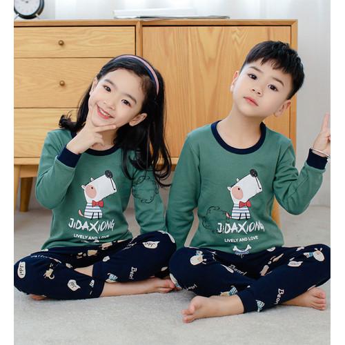 Foto Produk Piyama Baju Anak Import Adem Katun Halus Karakter seri 5 Size Big - dogwithtie, SIZE 100 dari zoediggies