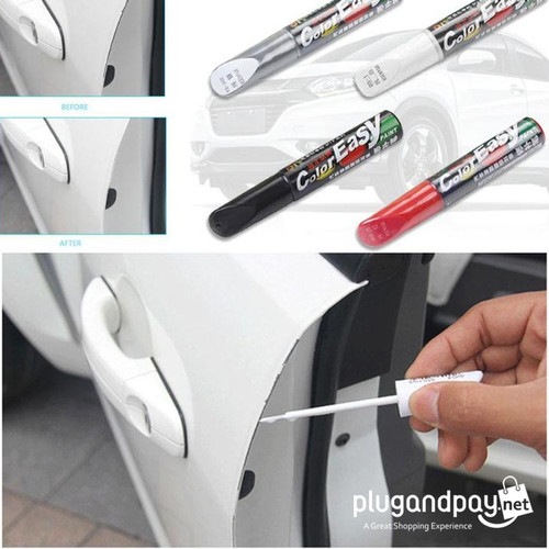 Foto Produk Easy Fix It Pro Cat Spidol Penghilang Baret Lecet Cat Mobil Tusir Car - Putih dari plugandpay