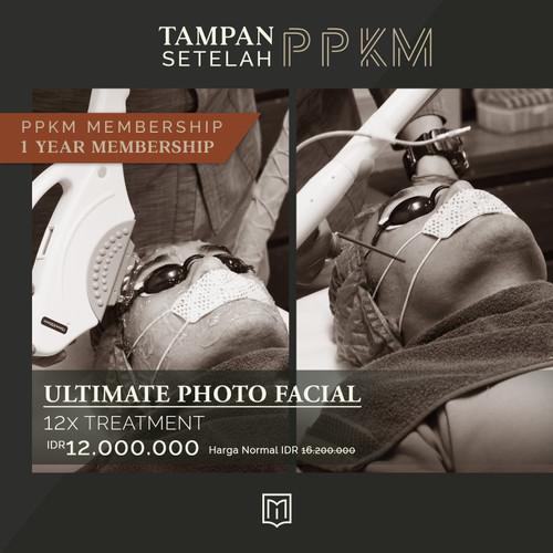 Foto Produk Tampan Setelah PPKM - 1 Year Membership Ultimate Photo Facial dari MENOLOGY by ZAP